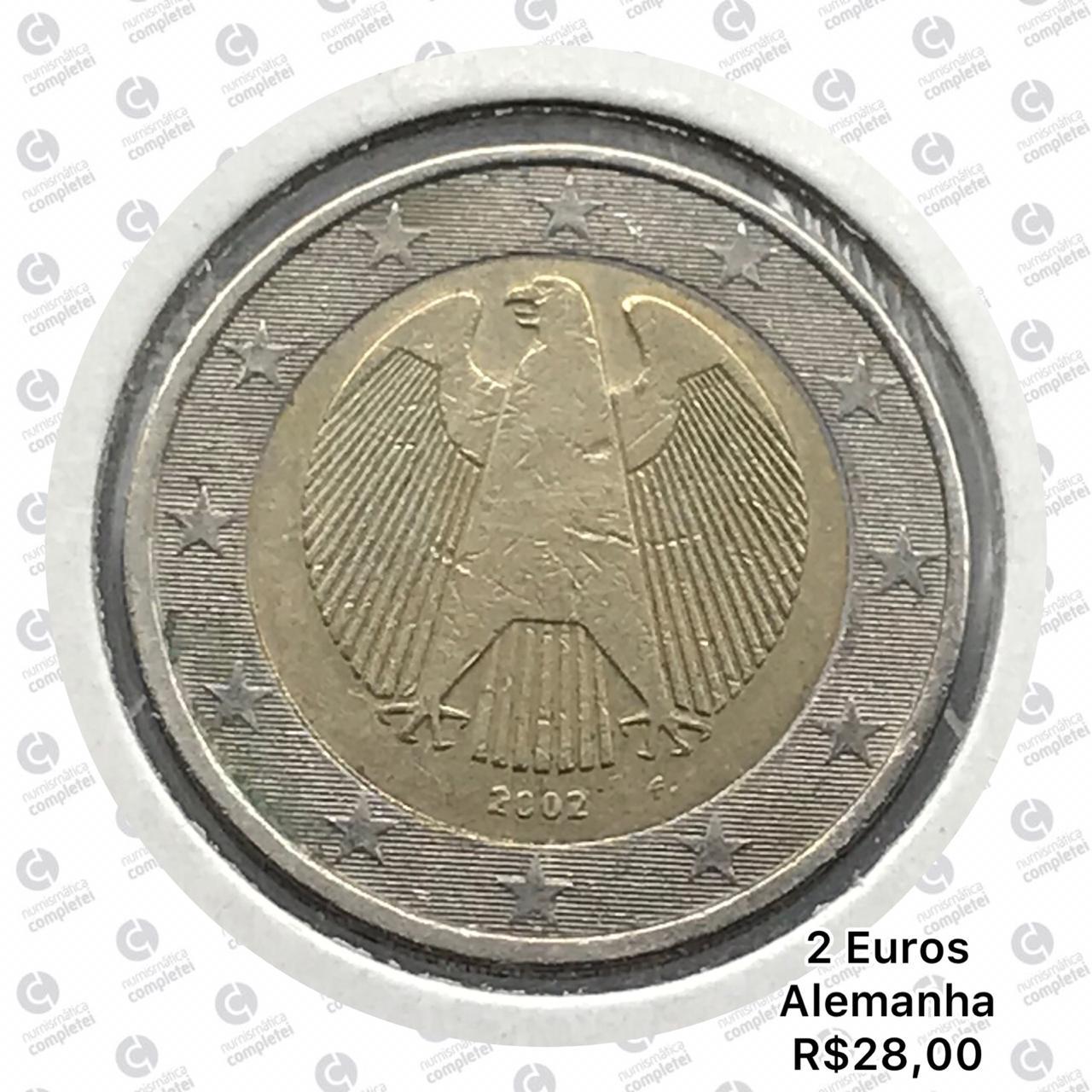 Moeda Alemanha 2 Euros 2003 MBC