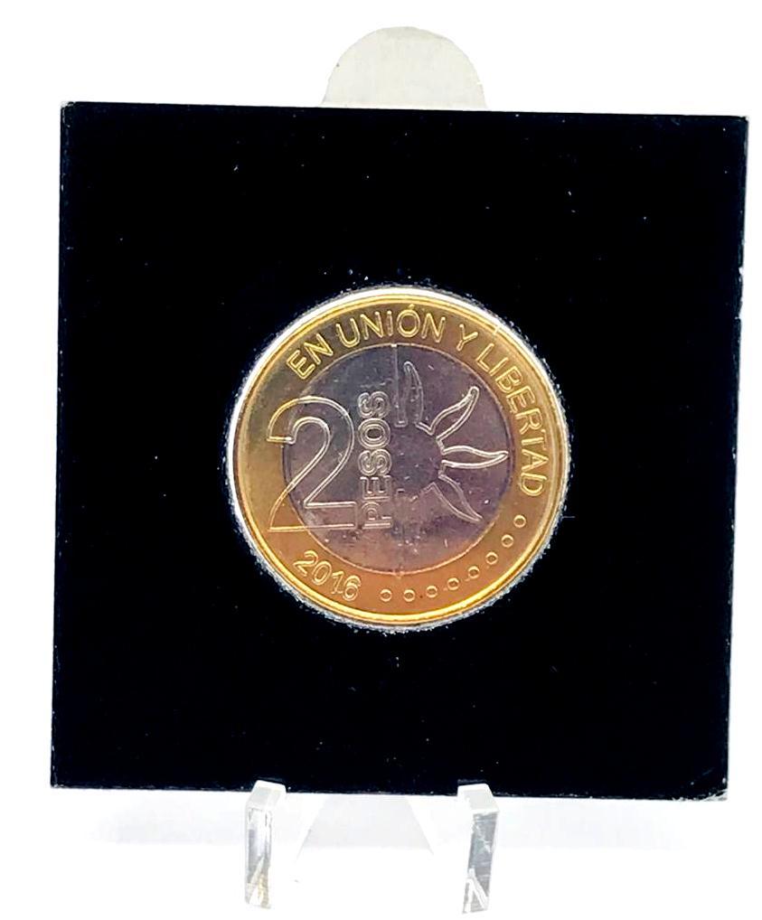 Moeda Argentina Comemorativa 2 Pesos 2016 FC
