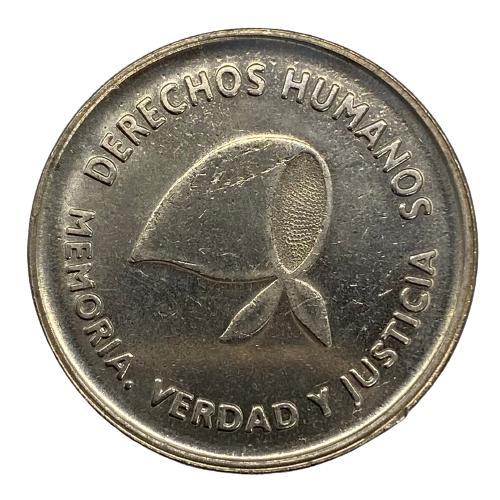 Moeda Argentina Comemorativa aos Direitos Humanos 2 Pesos 2006 SOB