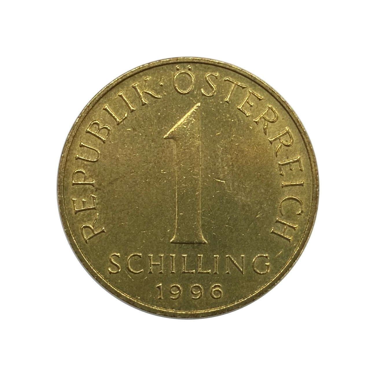 Moeda Áustria 1 Shilling 1996 MBC