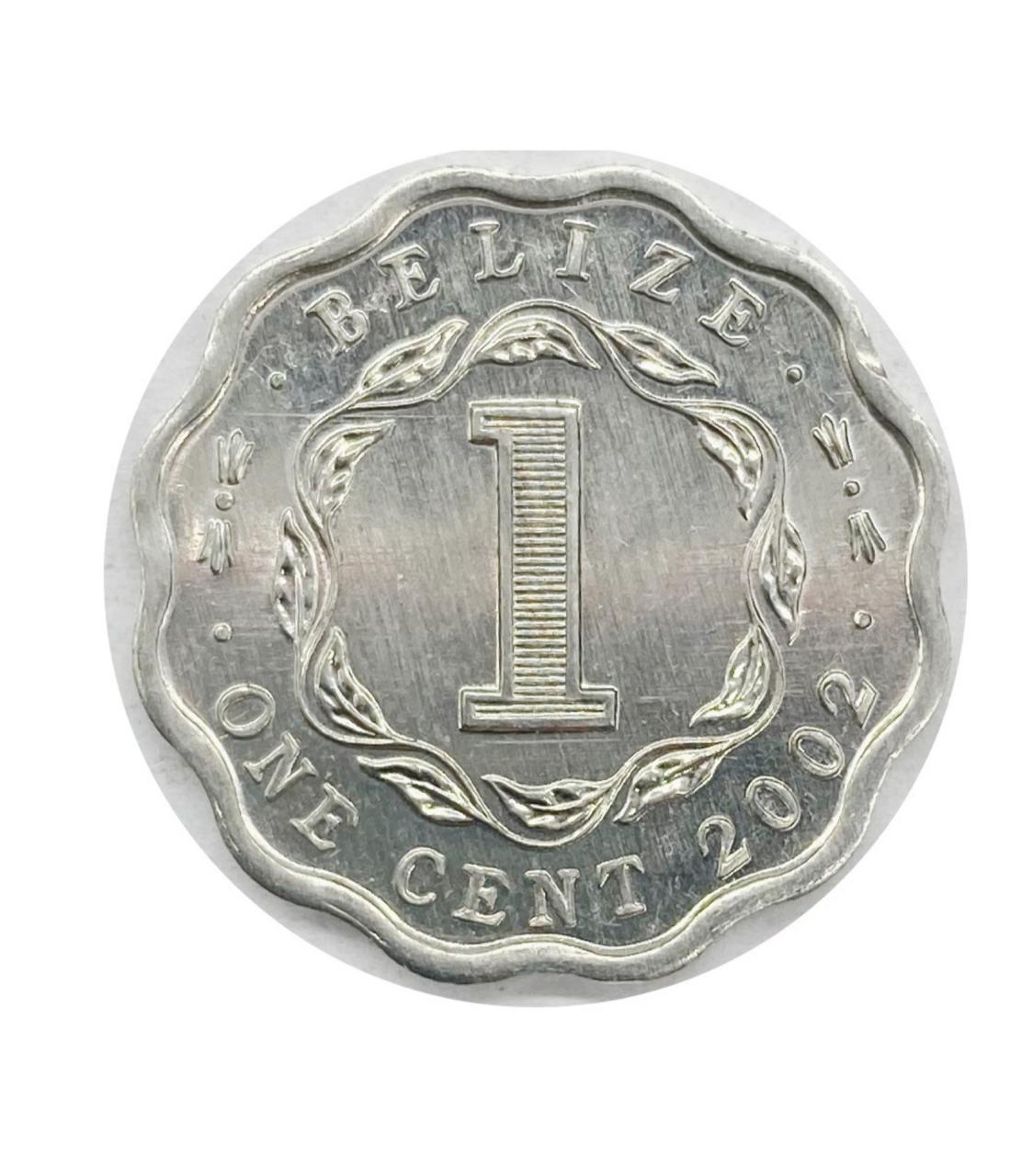 Moeda Belize 1 Cêntimo 2002 FC