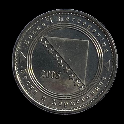 Moeda Bósnia e Herzegovina 5 Fening 2005 SOB