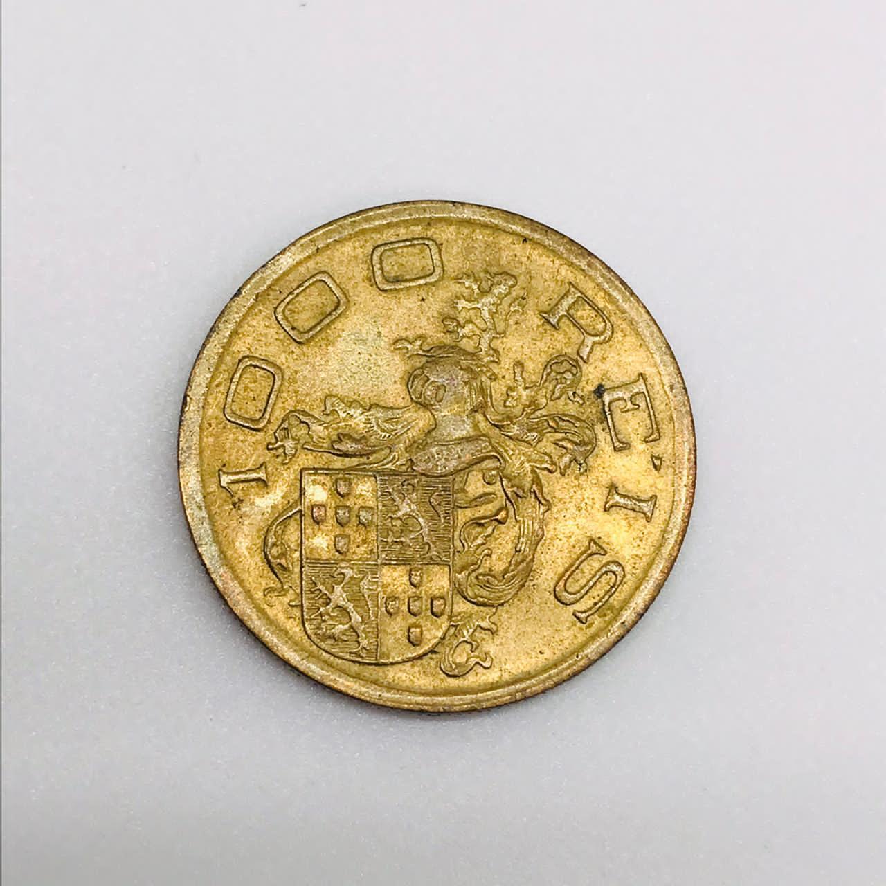 Moeda Brasil 1000 Réis 1932 SOB