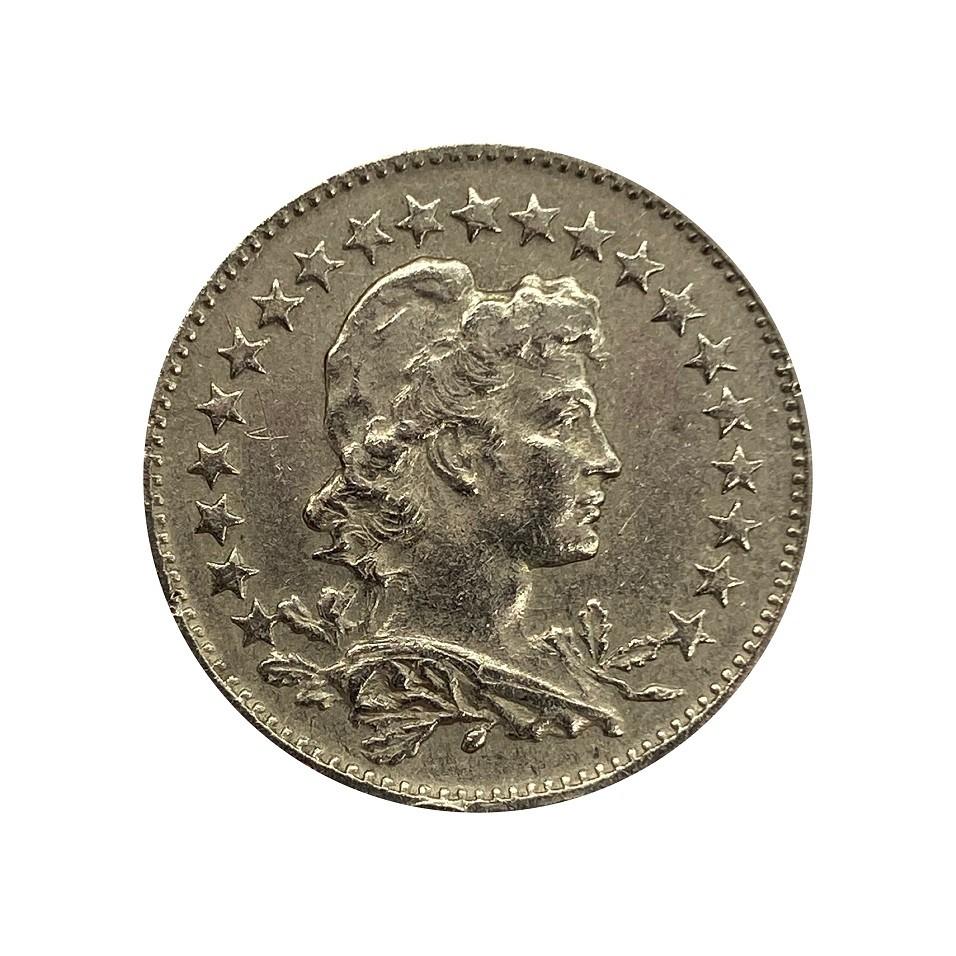Moeda Brasil 100 Réis 1918 MBC
