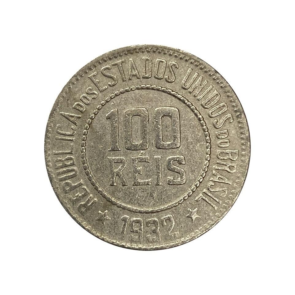 Moeda Brasil 100 Réis 1932 MBC