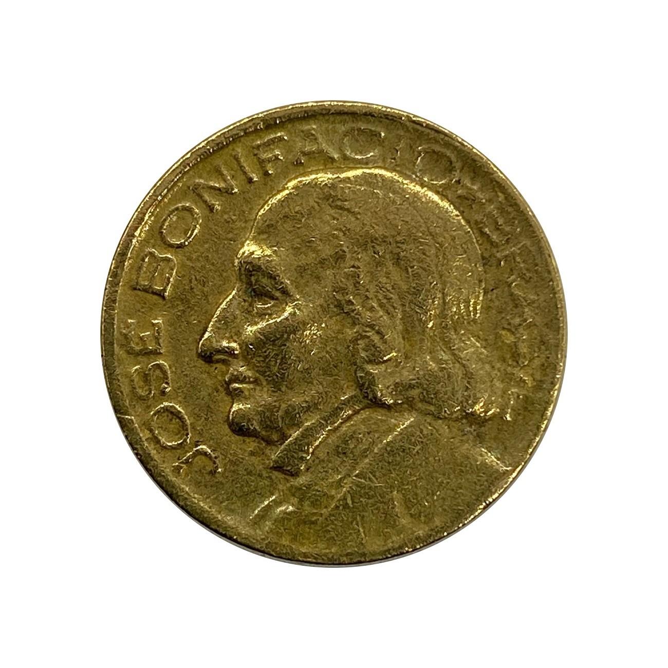 Moeda Brasil 10 Centavos 1953 José Bonifácio MBC