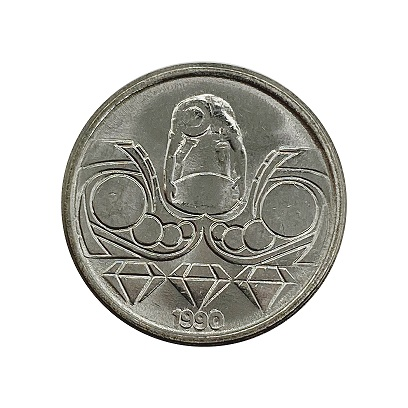 Moeda Brasil 10 Centavos 1990 FC