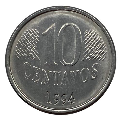 Moeda Brasil 10 Centavos 1994 fc