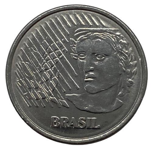 Moeda Brasil 10 centavos 1997 FC