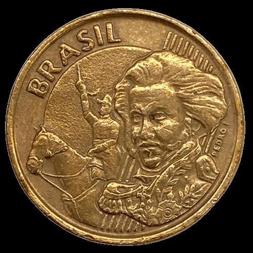 Moeda Brasil 10 Centavos 1999 Escassa MBC