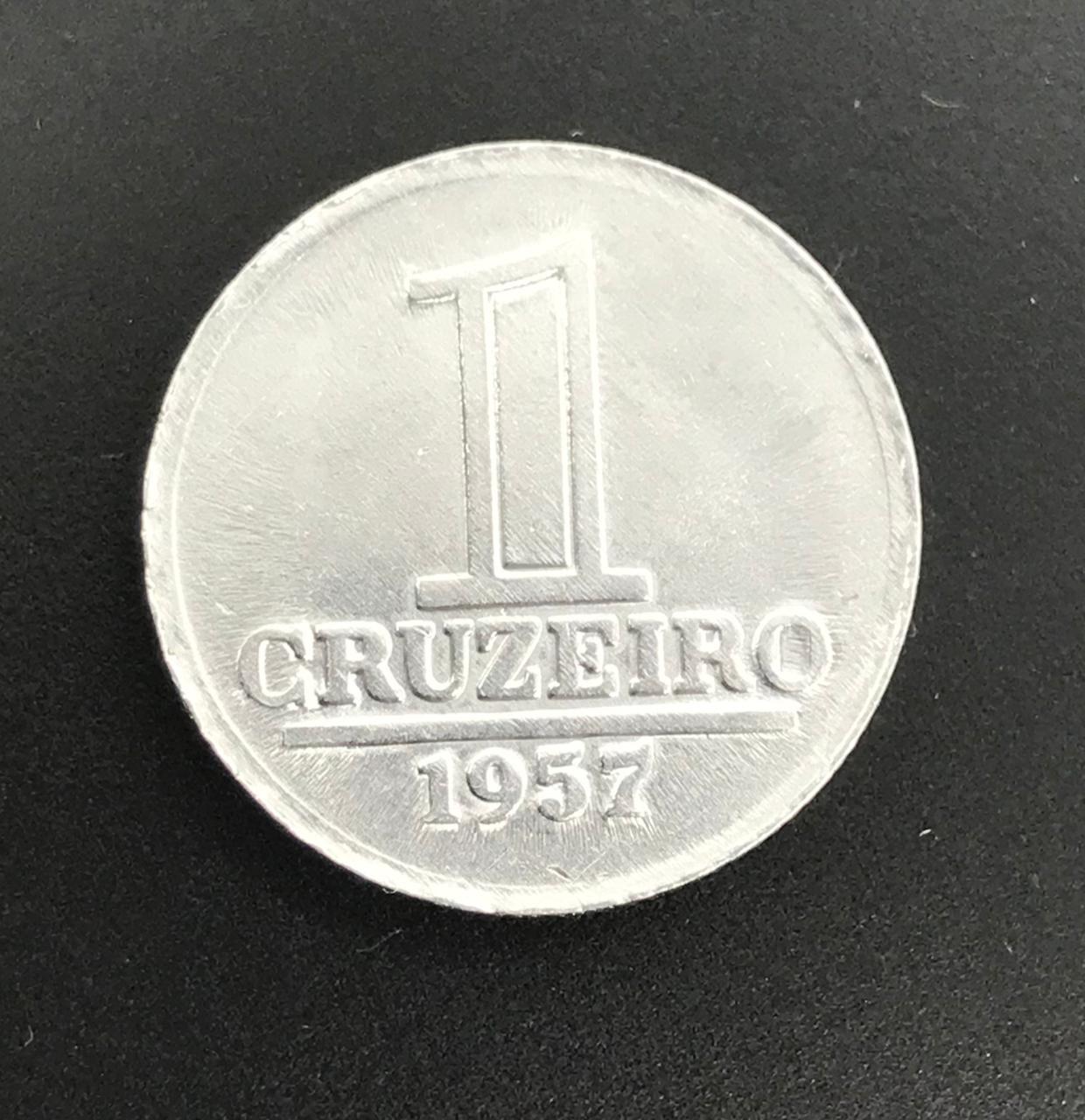 Moeda Brasil 1 Cruzeiro 1957 FC