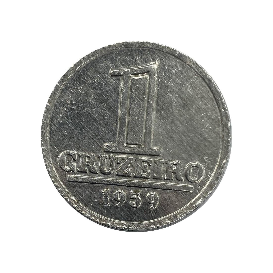 Moeda Brasil 1 Cruzeiro 1959 FC