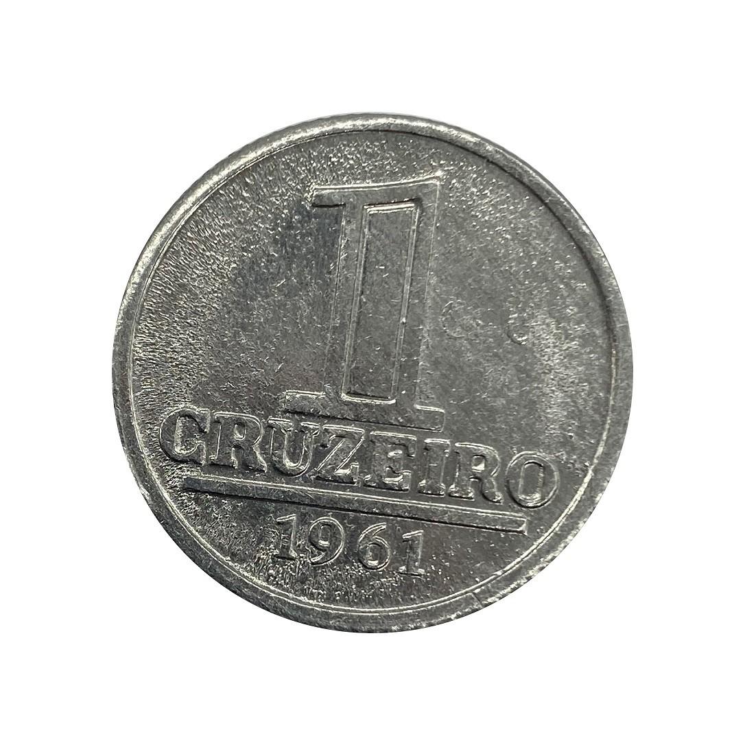 Moeda Brasil 1 Cruzeiro 1961 FC