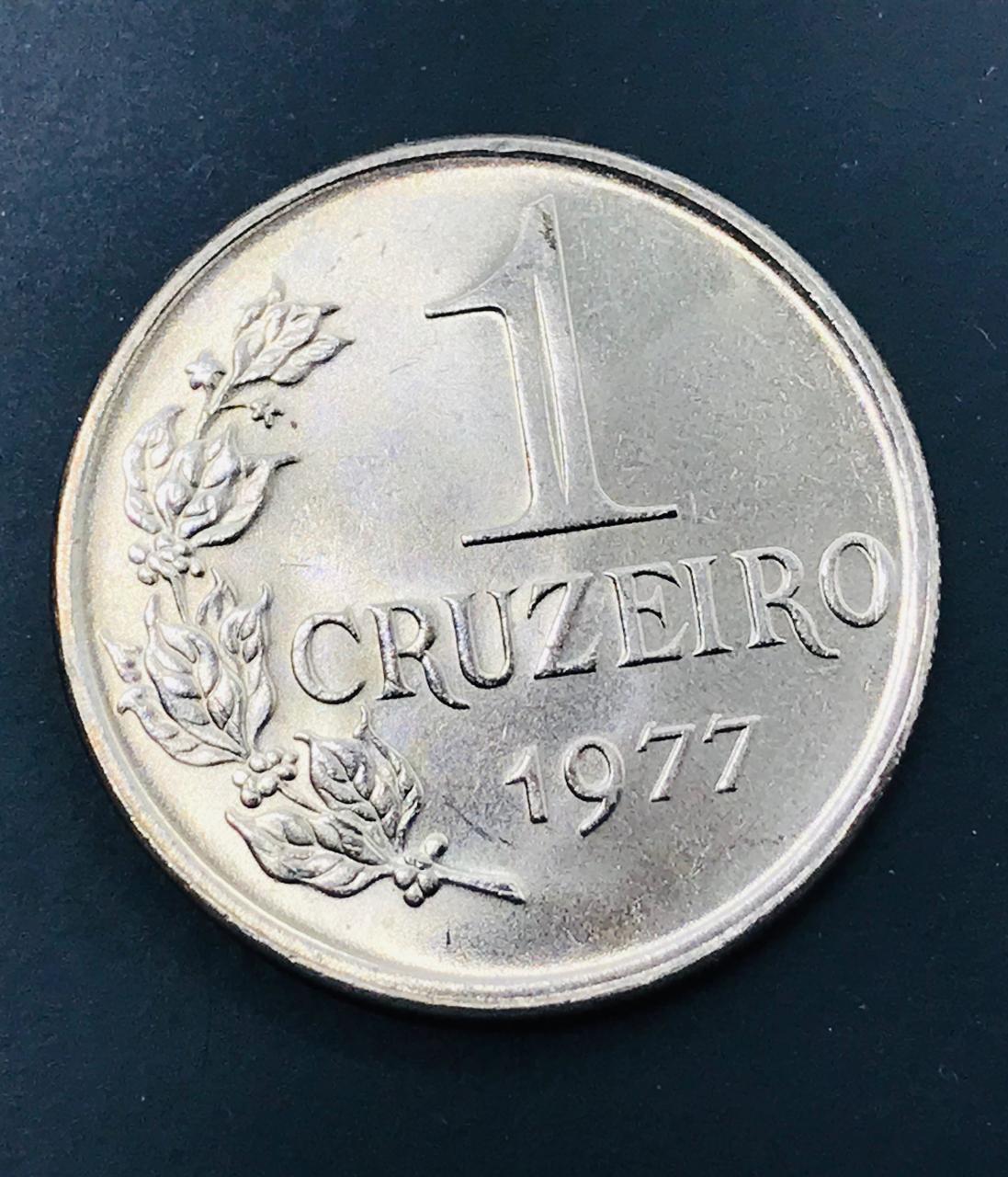 Moeda Brasil 1 Cruzeiro 1977 FC