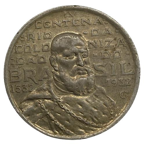 Moeda Brasil 2000 REIS 1932  (PRATA) Sob