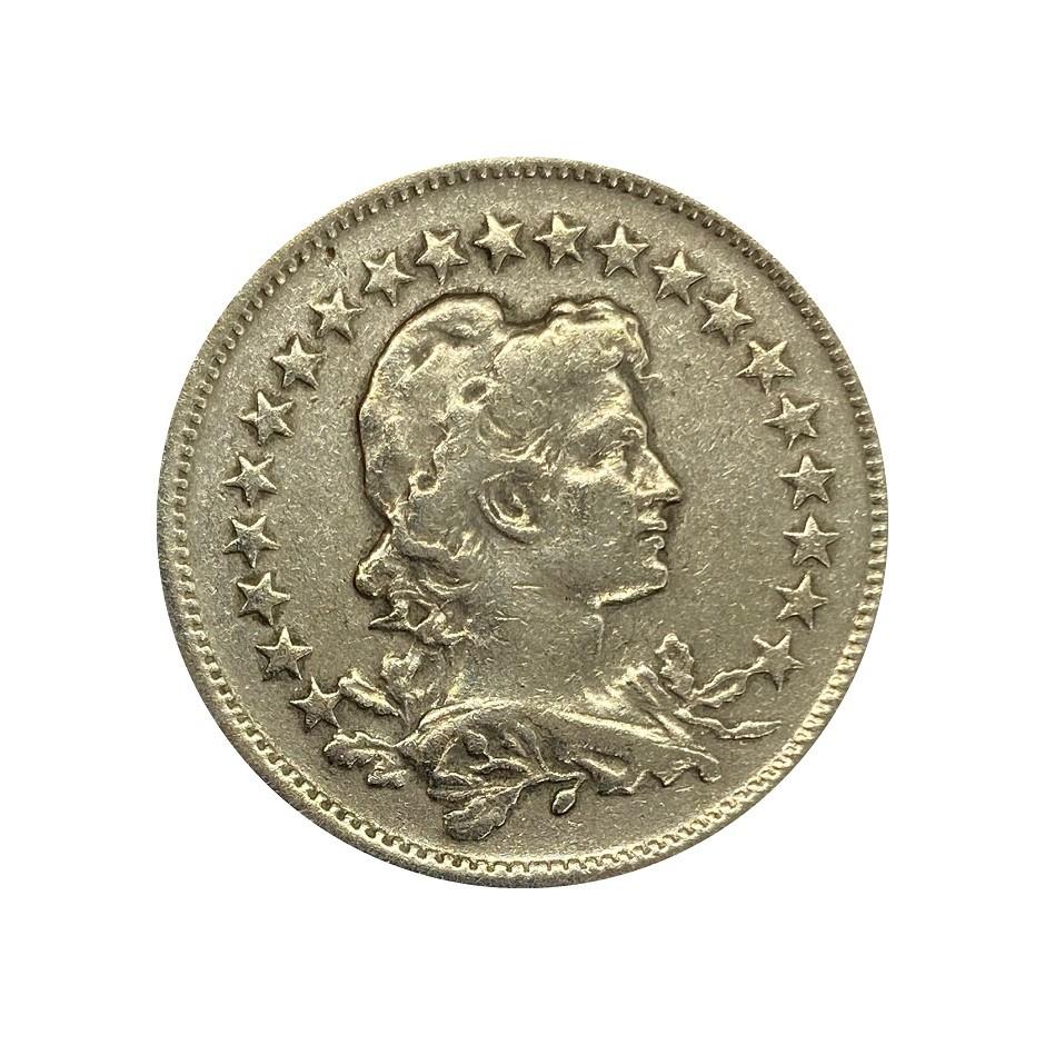 Moeda Brasil 200 Réis 1935 MBC