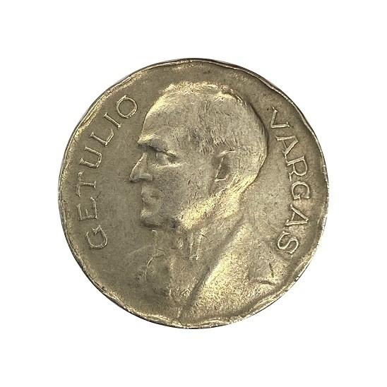 Moeda Brasil 200 Réis 1940 Getúlio Vargas MBC