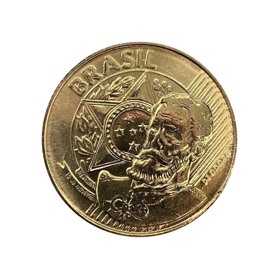 Moeda Brasil 25 Centavos 2020 FC