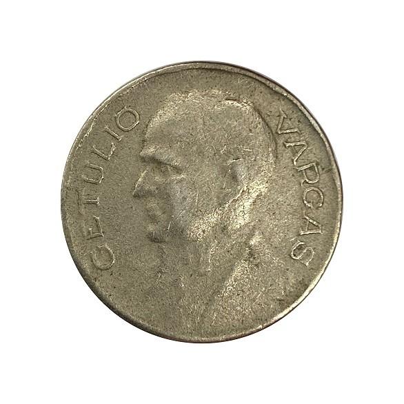 Moeda Brasil 400 Réis 1938 Getúlio Vargas MBC