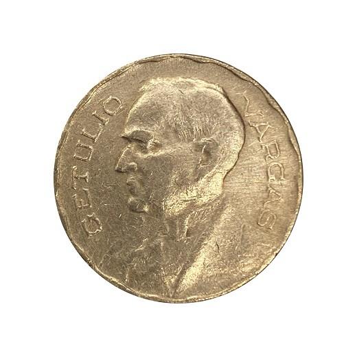Moeda Brasil 400 Réis 1942 Getúlio Vargas MBC