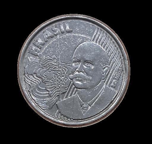 Moeda Brasil 50 Centavos 2008 SOB