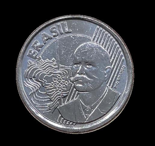 Moeda Brasil 50 Centavos 2015 SOB