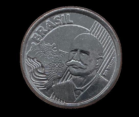 Moeda Brasil 50 Centavos 2020 SOB