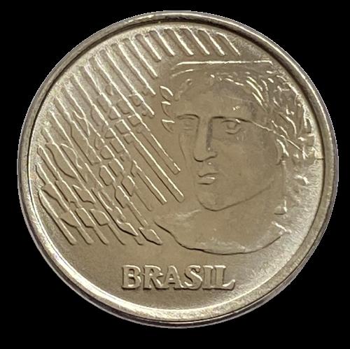 Moeda Brasil 5 Centavos 1996 FC
