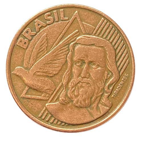 Moeda Brasil  5 centavos 1998 MBC