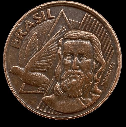 Moeda Brasil 5 Centavos 1999 Escassa MBC