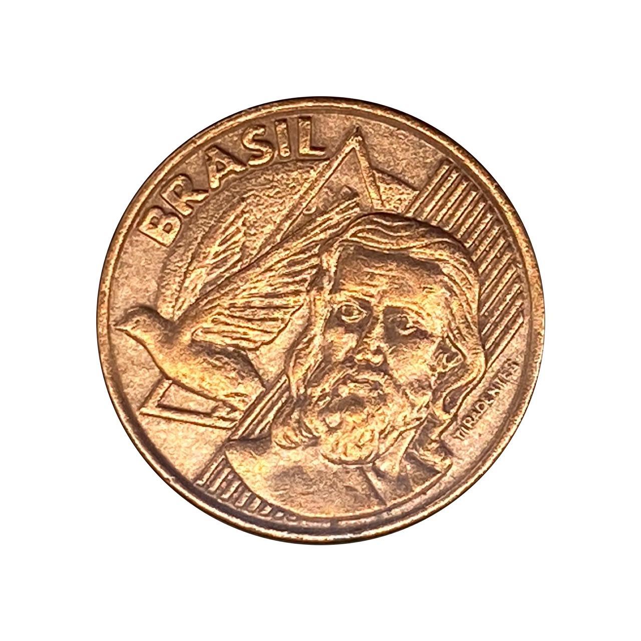 Moeda Brasil 5 centavos 2000 Escassa MBC