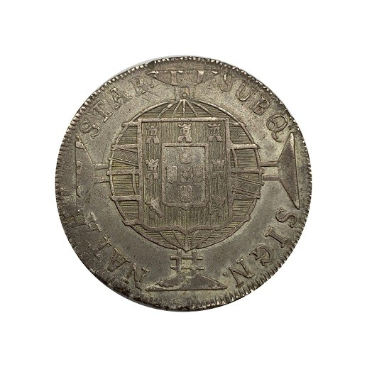 Moeda Brasil 960 reis 1819 R