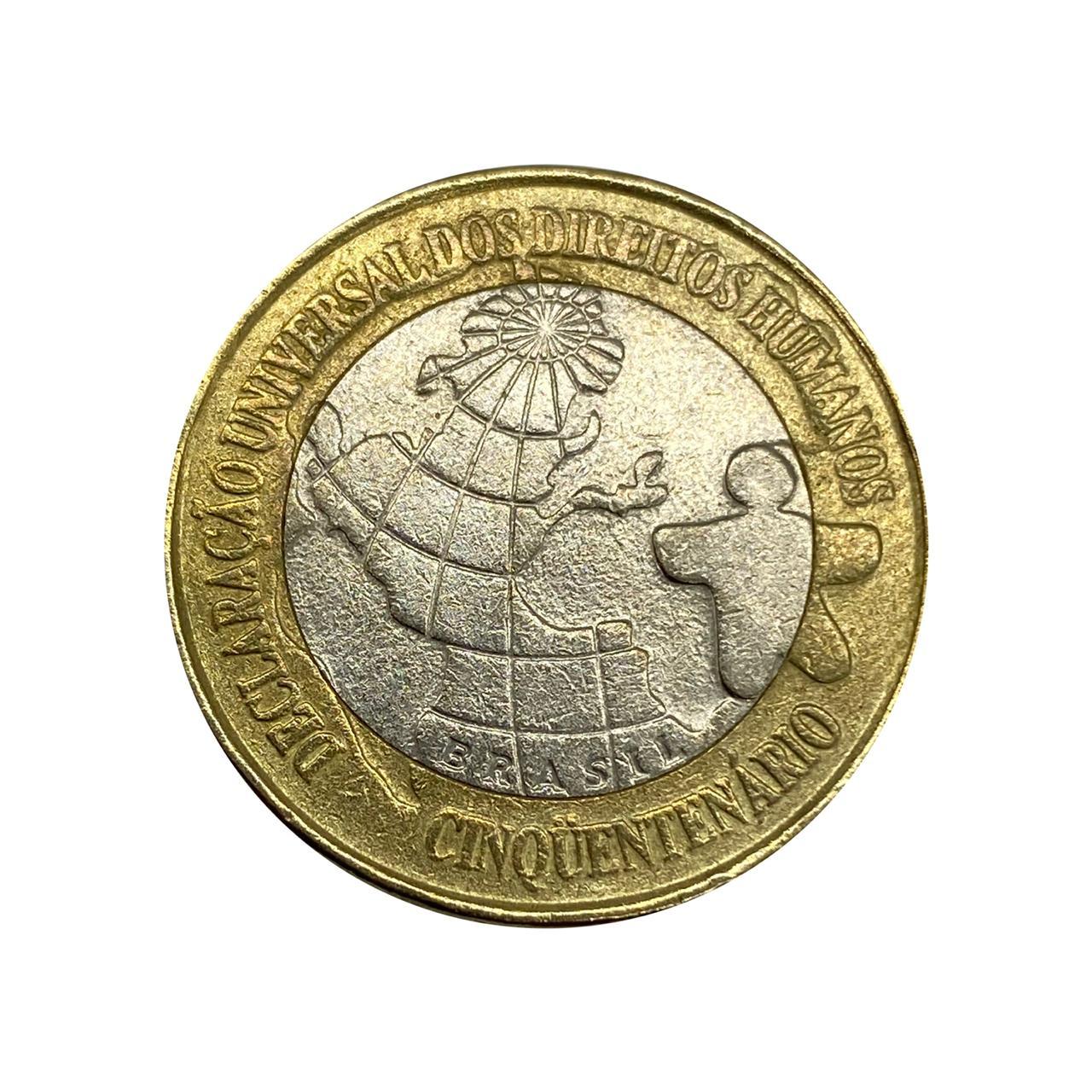 Moeda Brasil Comemorativa DH 1998 MBC