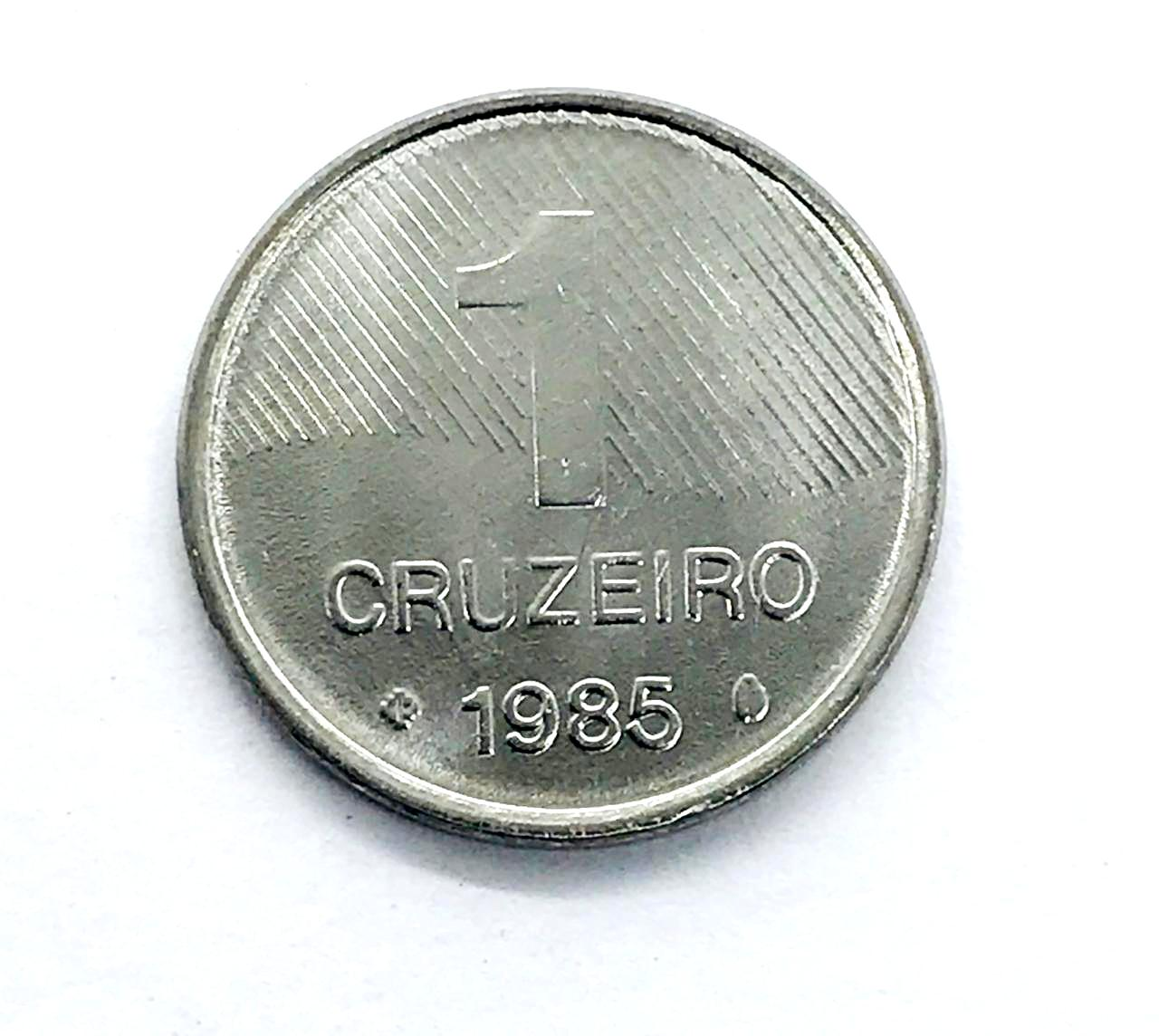 Moeda Brasil FAO Cana de Açúcar 1 Cruzeiro 1985 FC