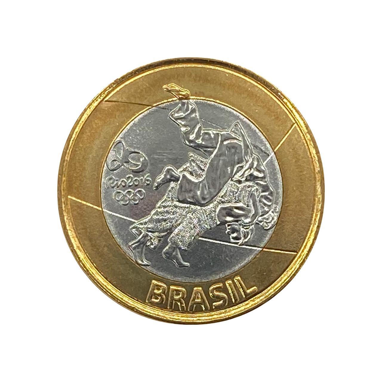 Moeda Brasil Olímpica Judo 3° série 2016  FC