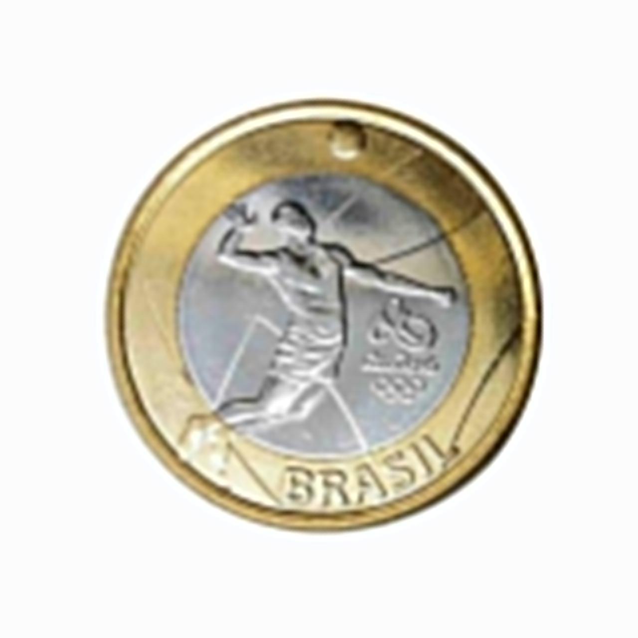Moeda Brasil Olímpica Voleibol 3° série 2016  FC
