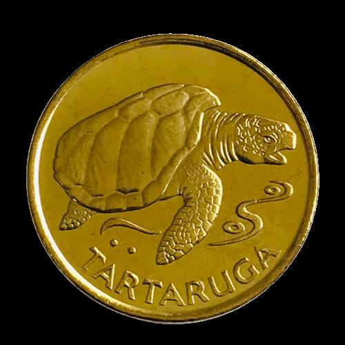 Moeda Cabo Verde Fauna 1 Escudo 1994 FC