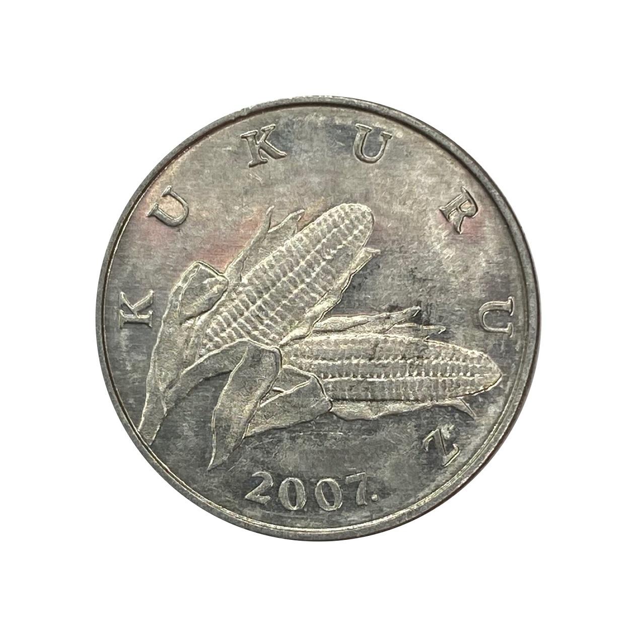 Moeda Croácia 1 Lipa FAO 2007 SOB