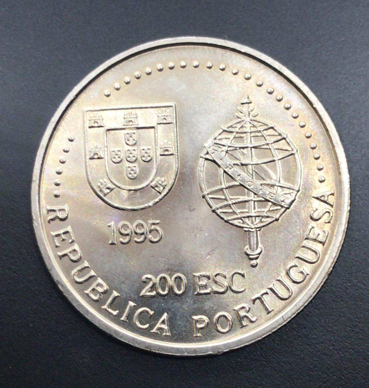 Moeda de Portugal 200 Escudos - Austrália 1522-1525
