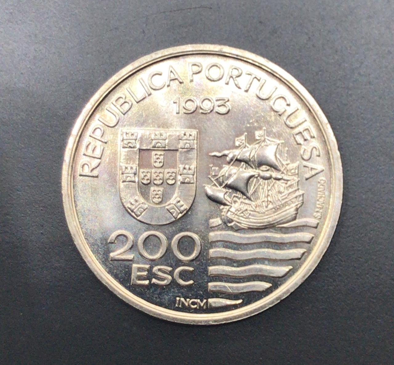 Moeda de Portugal 200 Escudos - Enviados Daimios Kiushu