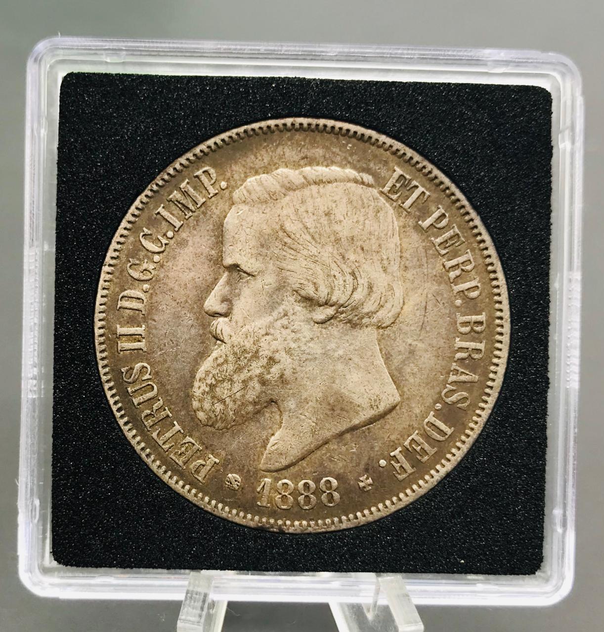 Moeda de Prata - Império  2000 Reis 1888