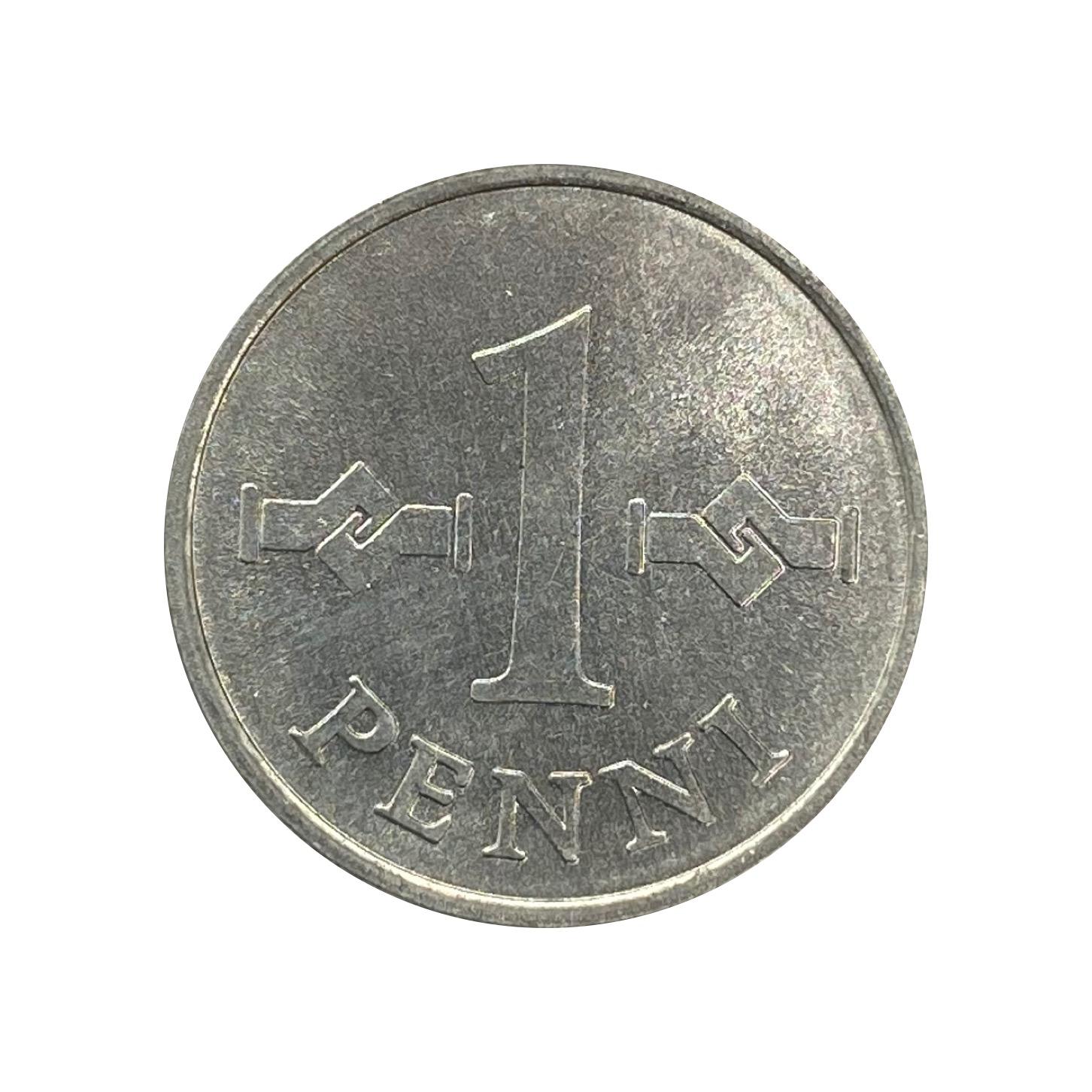 Moeda Finlândia 1 Penni 1979 FC
