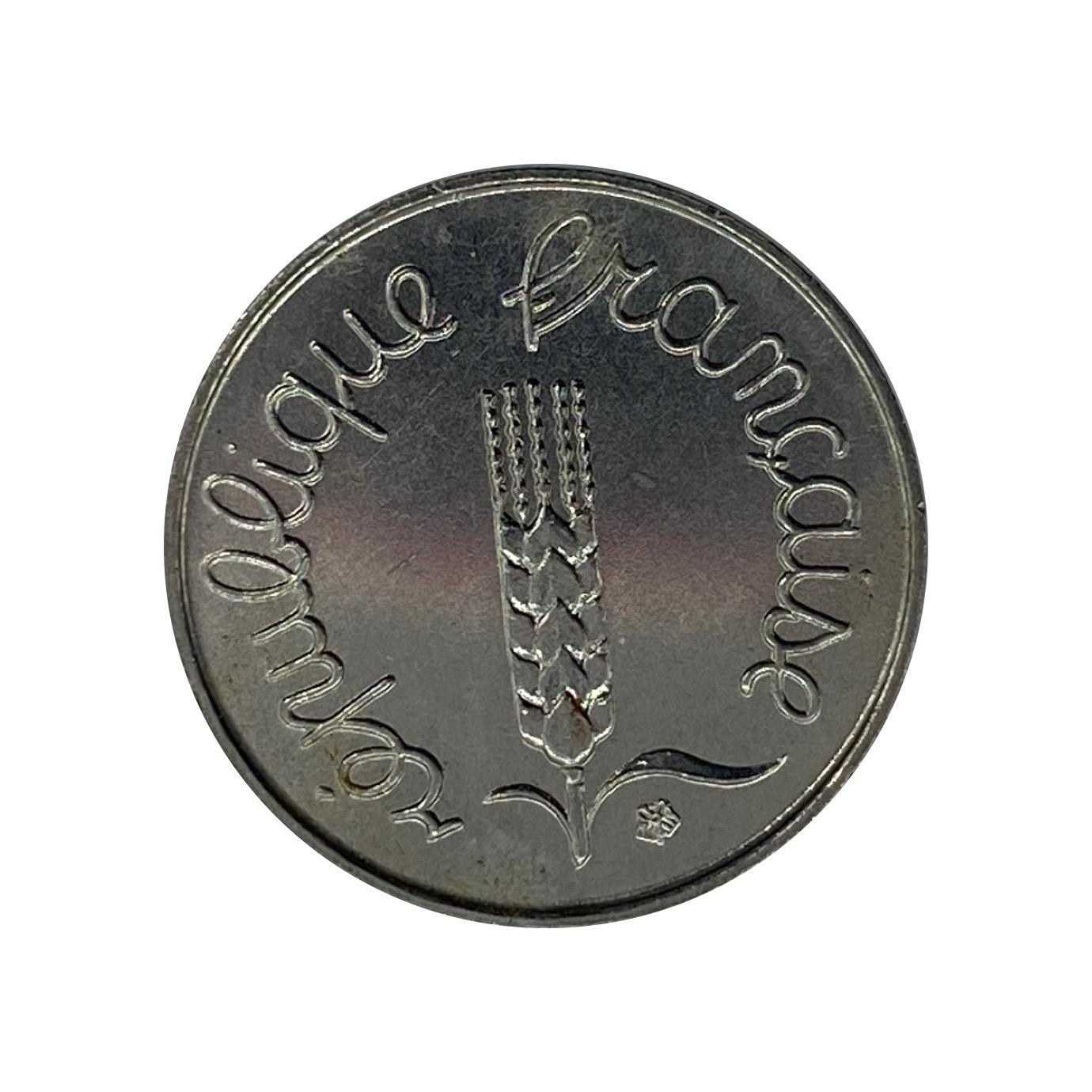 Moeda França 1 Centime 1962 MBC