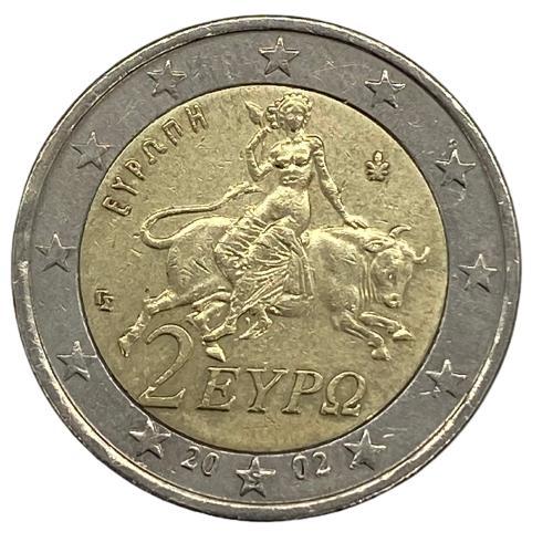 Moeda Grécia  2 Euros