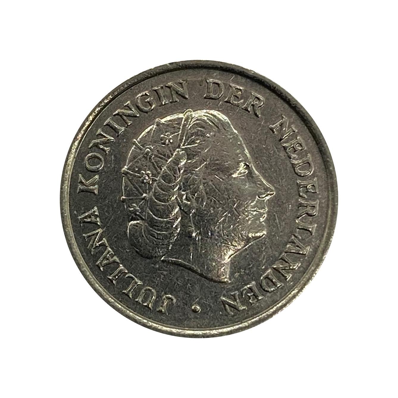 Moeda Holanda 10 Cêntimos 1970 MBC