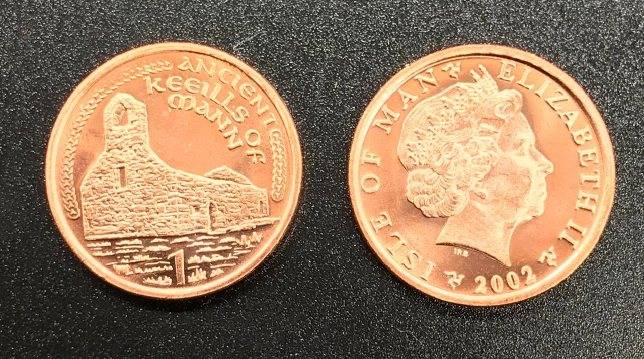 Moeda Ilha de Man 1 pêni (2000-2003)