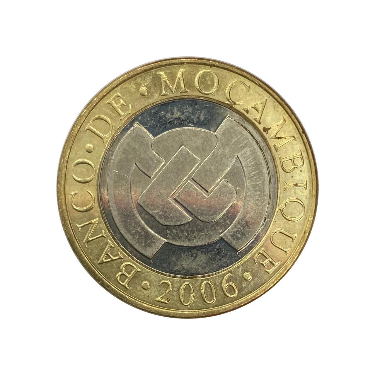 Moeda Moçambique 10 Meticais 2006 SOB