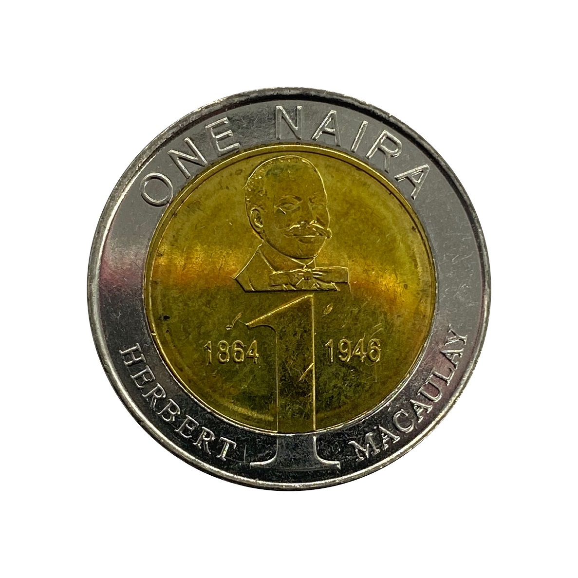 Moeda Nigéria 1 Naira 2006 SOB
