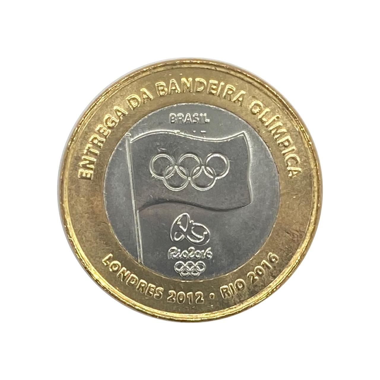 Moeda Olímpica Bandeira - FC