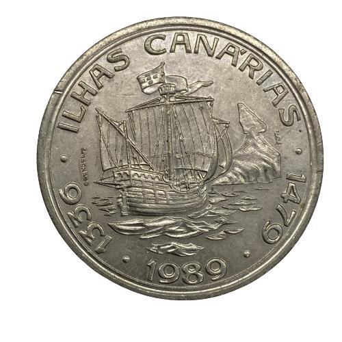 Moeda Portugal 100 II Série Descobrimentos - À Conquista do Atlântico - Canárias
